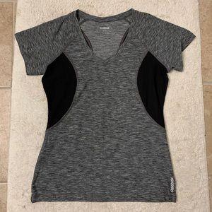 Reebok grey workout shirt size S